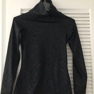 Nike Black Snakeskin Pullover